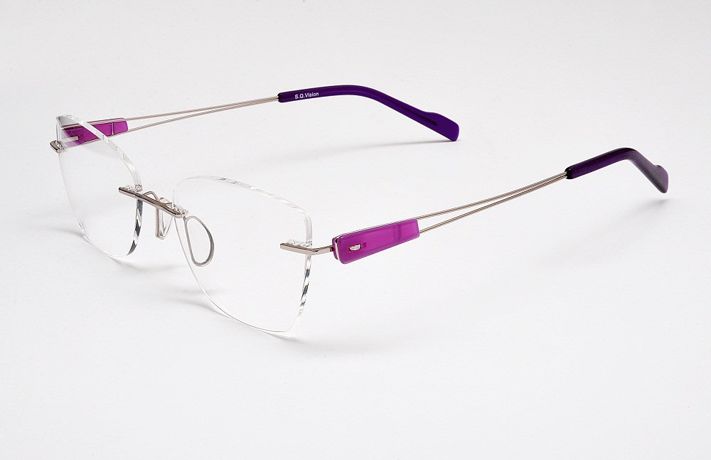 I-COMFORT1 Metal Rimless w/Wire Temples