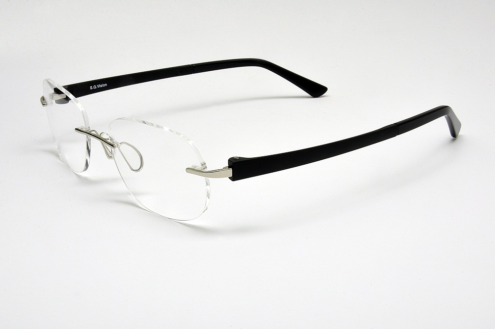 I-COMFORT2 Metal Rimless with Ultem Temples